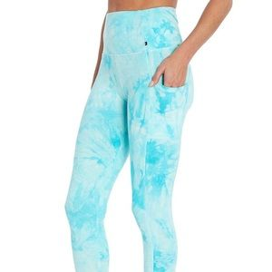JUST IN! MARIKA Marbled High Waisted Ankle Legging